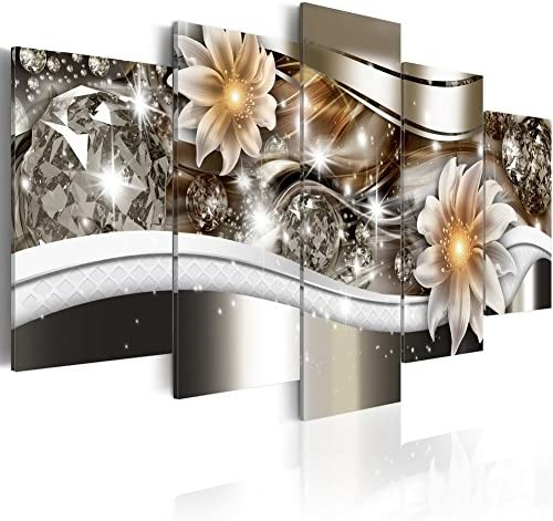 Everlands Flower Art Print Canvas Painting Contemporary Wall Picture Home Decoration for Bedroom product image