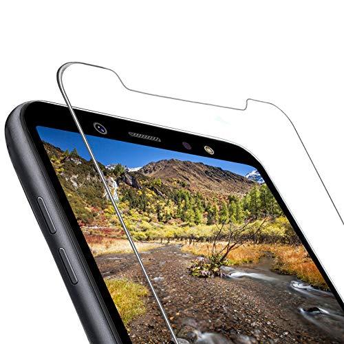 ONKING 4 Stück Schutzfolie Kompatibel mit Samsung Galaxy A6/J6 2018 Panzerlgasfolie,9H Festigkeit HD Blasenfrei Glasfolie für Samsung Galaxy A6/J6 2018 Bildschirmschutzfolie