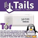 Linux Tails 3.13.1 su USB Toshiba da 16 gb. Alcuni dei vantaggi dell'utilizzo di Tails Linux: Tails utilizza strumenti di crittografia all'avanguardia per crittografare file, e-mail e messaggistica istantanea. Versione aggiornata: questa versione di ...