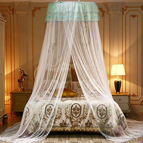 Mückennetz,Prinzessin Moskitonetz aus,Moskitonetz Spitzen,Moskitonetz,mosquito net,moskitonetz doppelbett,Moskitonetz Bett,groß mückennetz inkl (Weiß)