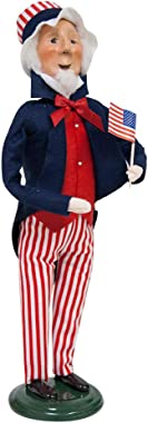 Byers' Choice Uncle Sam Caroler Figurine #ZSS09 from The Historical Collection
