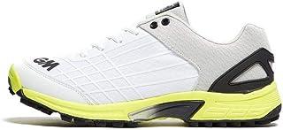 حذاء الكريكيت للرجال البالغين من Gunn & Moore 2019 All Rounder لون أبيض/ليموني
