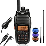 TYT UV8000E 10W High Power Dual Band UHF VHF Ham Walkie Talkie Two-Way Radio, with Cross-Band Repeater Function, 3600mAh Battery Transceiver, 2 Antennas, Car Charger, Programming Cable