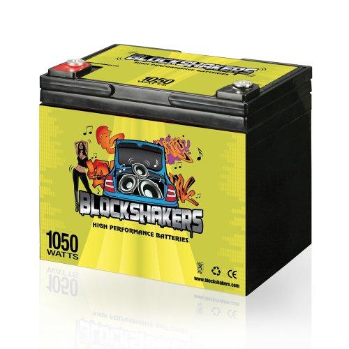 Green 12V 35AH 1050 Watts M6/T6 Car Audio Battery replaces XS XP950 D975 S975