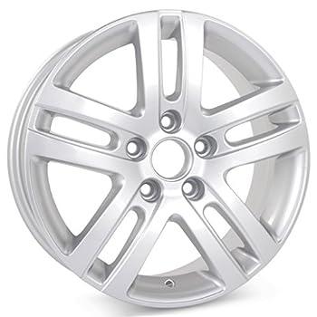 New 16  Alloy Replacement Wheel for Volkswagen Jetta VW 2005 2006 2007 2008 2009 2010 2011 2012 2013 2014 2015 2016 2017 2018 Silver Rim 69812