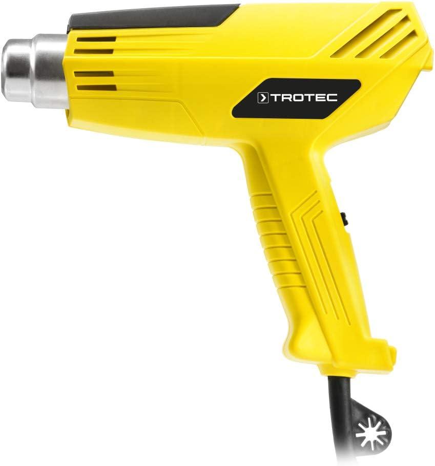 TROTEC Pistola de aire caliente HyStream 200 W, Potente, Con Adaptador de Boquillas, Bricolaje, Artesanías