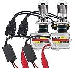 Eseastar H4 9003 HID Kit de conversión de haz alto y bajo con 2 bombillas de xenón blanco de 6000 K y 2 balastos de 35 W y 12 V