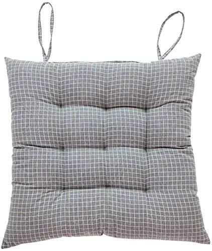 Cojines de piso con relleno interno de algodón cojines cuadrados para el suelo suave y espesado asiento trasero cojines de silla para el hogar 45 cm (solo cojín)