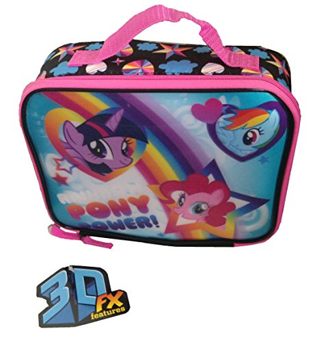 My Little Pony Lunch Box Rainbow Pony Power 3D FX Features