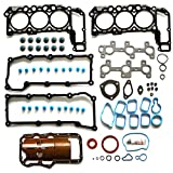 ECCPP Engine Replacement Full Head Gasket Sets for Dodge Dakota for Jeep Liberty 2002-2005 3.7L Automotive Replacement Engine Full Gasket Head Kits