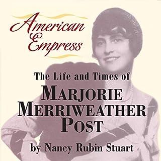 American Empress audiobook cover art