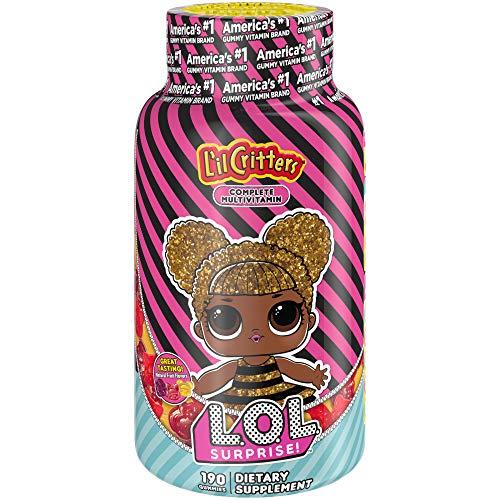 L'il Critters LOL Surprise Complete Multivitamin Gummies