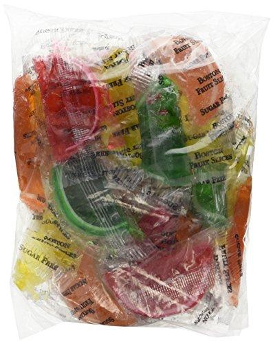 DiabeticFriendly® Sugar Free Assorted Fruit Fruit Slices, Orange, Cherry, Lime & Lemon, Individually Wrapped, 1lb Bag