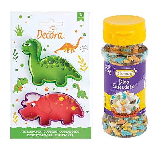 Backset Dino | Dino Streusel | Dino Kekse | Dino Plätzchen | Plätzchen Keks Ausstecher | Plätzchen Keks Formen