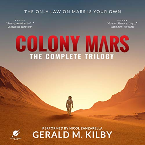 Couverture de Colony Mars: The Complete Trilogy