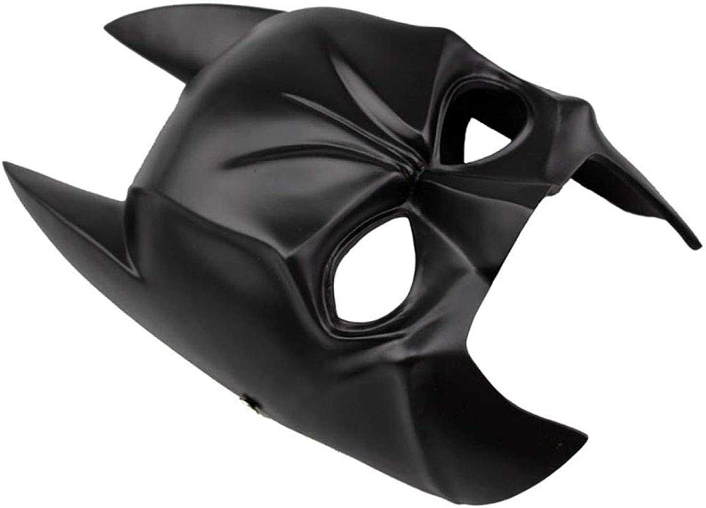 grandes ofertas ZAIYI-Mask MásCocheas Halloween High-Grade Resina Horror Horror Horror Knight MásCochea CosJugar Vestir Atrezzo Party Role Jugar,negro  hermoso