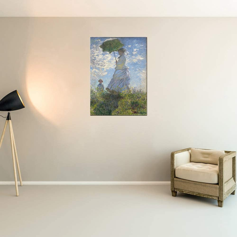 Buy Claude Monet Canvas Wall Art Woman With A Parasol Madame Monet And Her Son Famous Classic Oil Paintings Giclee Canvas Prints Landscape Home Decor Online In Germany B08p35khc4