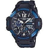 Casio G-Shock Gravitymaster - Reloj Deportivo para Hombre (Negro/Azul)
