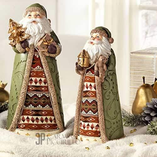 Statua Babbo Natale Grande L'OCA NERA