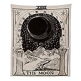 nobranded Tapiz de la Carta del Tarot Tapiz de adivinación de la Europa Medieval The Sun Moon Star Tapices de la Carta del Tarot Tapiz Vertical Tapiz de Pared