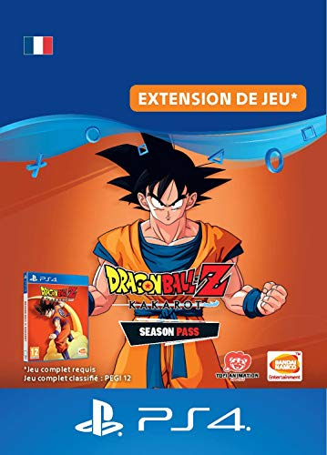 DRAGON BALL Z: KAKAROT Season Pass   Code PS4 Jeu à télécharger - Compte français
