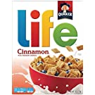 Life Multigrain Cereal, Cinnamon, 13-Ounce Boxes (Pack of 4)