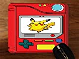 Pokedex With Pikachu Desktop Mouse Pad