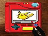 Pokedex With Pikachu Desktop Mouse Pad