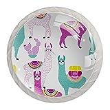Alpaca - Pomos de cristal con forma de diamante para cajones de tocador, tiradores de cristal con tornillos, accesorios perfectos para el hogar, cocina, baño, sala de estar, dormitorio
