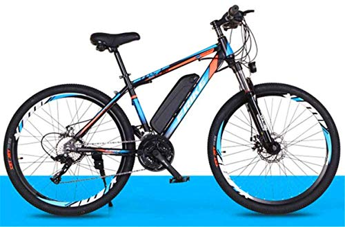 Ebikes 26' All Terrain Shockproof Ebike, Electric Mountain Bike 250W Off-Road Bicycle for Adults, with 36V 10Ah Removable Lithium-Ion Battery Ebikes for Men And Women (Color : Natural) ZDWN
