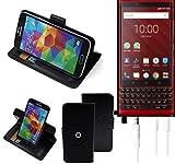 K-S-Trade® Case Schutz Hülle Für BlackBerry KEY2 Red