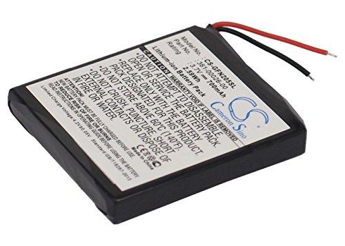 TECHTEK batería sustituye 361-00026-00 Compatible con [Garmin] Forerunner 205, Forerunner 305, Forerunner 305i