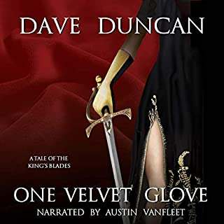 One Velvet Glove: A Tale of the King's Blades audiobook cover art