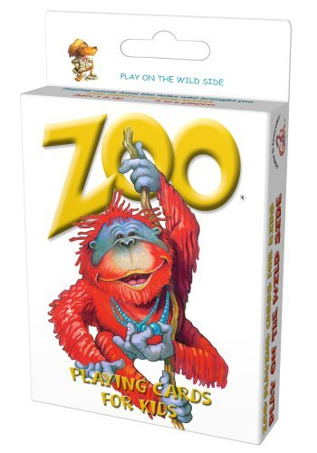 Zoo Playing Cards for Kids by ZooMania Games