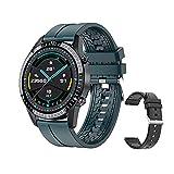 LSQ I9 PK GT2 WACTH SmartWatch Smartwatch Sports Sport Smartwatch avec fréquence Cardiaque Bluetooth et Appel à Android et iOS,A