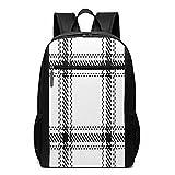 Mochila escolar Lumber Hipster Tartan 8, bolsa de libros de negocios, viajes, mochila casual para hombres, mujeres, adolescentes y niñas
