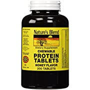 Natures Blend Protein Tablets Honey Flavor 200 Tablets