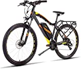High-speed Oppikle 27.5'' Electric Mountain Bike With Removable Large Capacity Lithium-Ion Battery (48V 400W), Electric Bike 21 Speed Gear And Three Working Modes