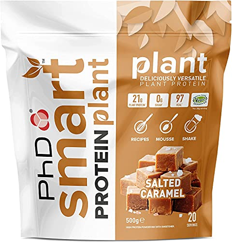 PhD Smart Protein Plant, Vegan approved Plant based protein Powder (Salted...