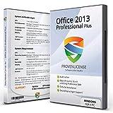 Office 2013 Professional Plus – Vollversion │ Office 2013 Pro Plus 32/64bit + ISO DVD Box + geprüfter Aktivierungsschlüssel per E-Mail I inkl. aller Updates │ deutsch │ Kundensupport