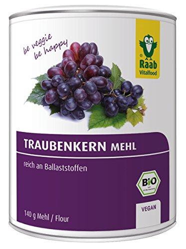 Raab Vital Food Traubenkernmehl Bio