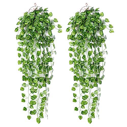 Flores Artificiales Decorativas Largas flores artificiales  Marca Ousuga