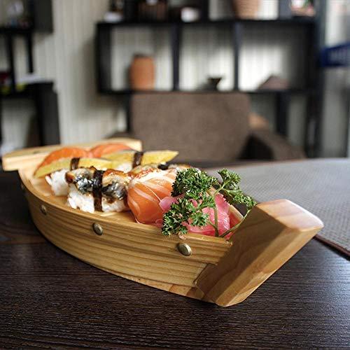 Barcos de madera de bambú para los alimentos del partido, sushi bocados, picar - compruebe por favor el tamaño antes de ordenar