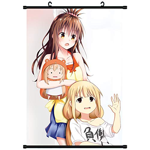 Jia Jiafu Dry Sister Small Buried Soil Buried Between The Sea Old Fish Dry Sister Surrounding Animation Second Yuan Hanging Painting Poster Wallpaper 22-40X60 Art Cloth