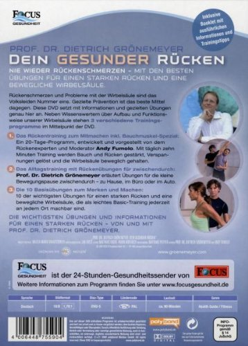 Prof. Dr. Grönemeyer – Dein Gesunder Rücken - 2