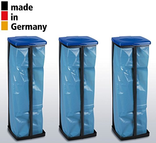 3 Müllsackständer je 120 Liter Made in Germany