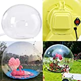 LOYALHEARTDY Inflatable Bubble Tent Camping Tent Transparent D-Ring Single...
