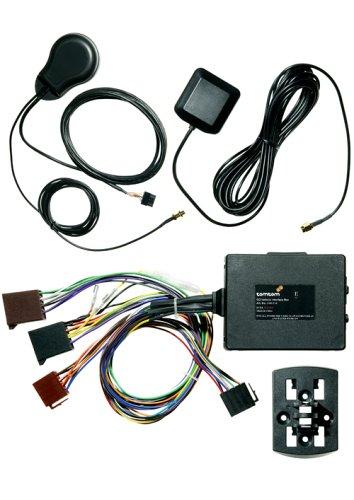 Tomtom Go Permanent Docking Kit für Go 300, 500 und 700 (Festeinbaukit das mit der Zündung EIN und ausgeschaltet Werden kann)