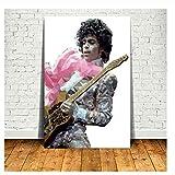 Suuyar Prince Music Poster und Drucke Wandkunst Leinwand