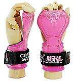 Cobra Grips Gewichtheber-Handschuhe Zughilfen für Kreuzheben FIT Pink Rubber V2